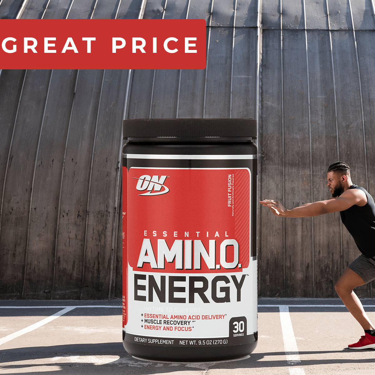 Aminokyseliny Amino Energy 270 g - Optimum Nutrition-fruit fusion