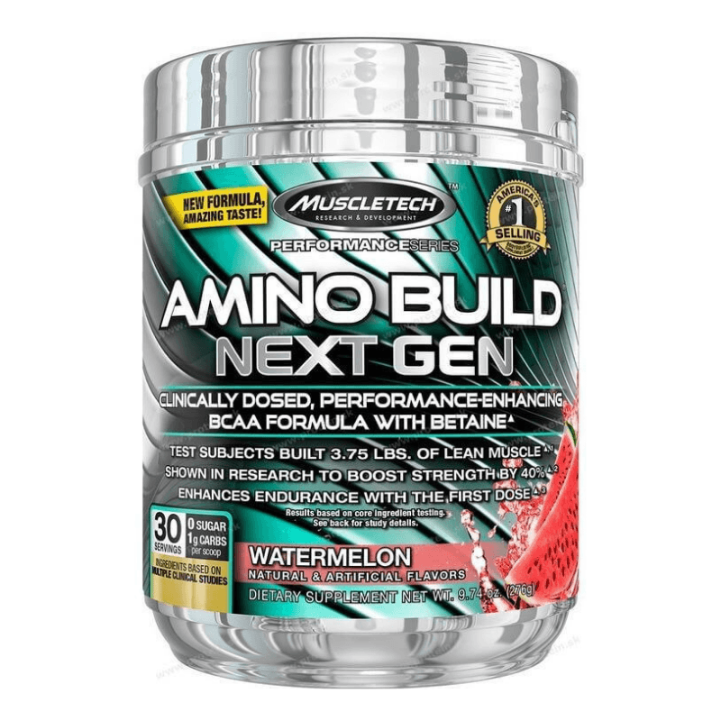 Aminokyseliny Amino Build Next Gen - MuscleTech