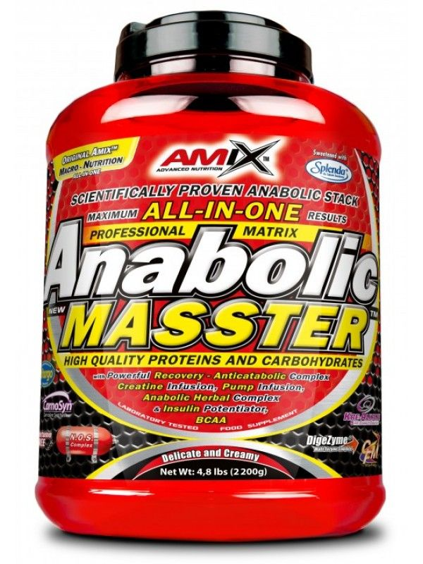 AMIX Anabolic Masster 2200 g - strawberry