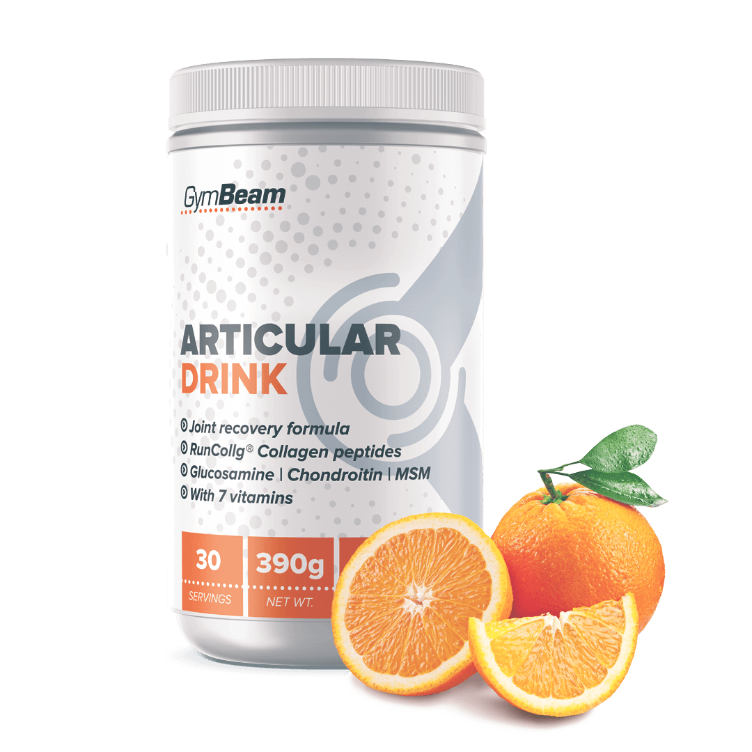 GymBeam Articular Drink 390 g - orange