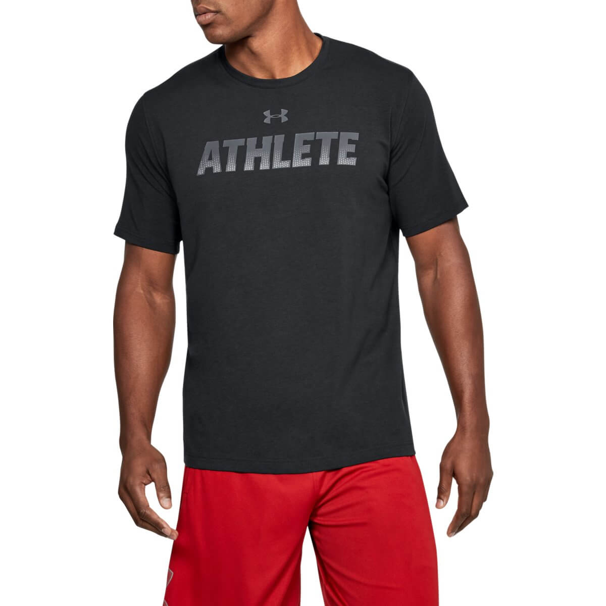 Under Armour Tričko Athlete SS Black L
