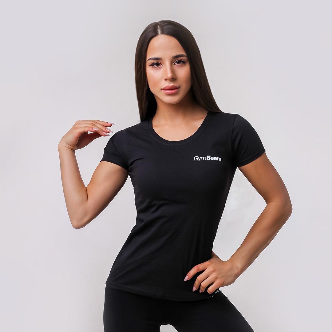 Dámské tričko Basic Black - GymBeam
