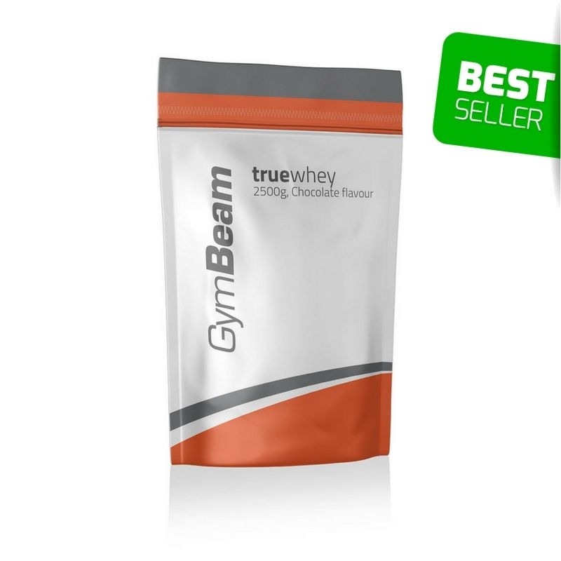GymBeam True Whey Protein 2500g - čokoláda