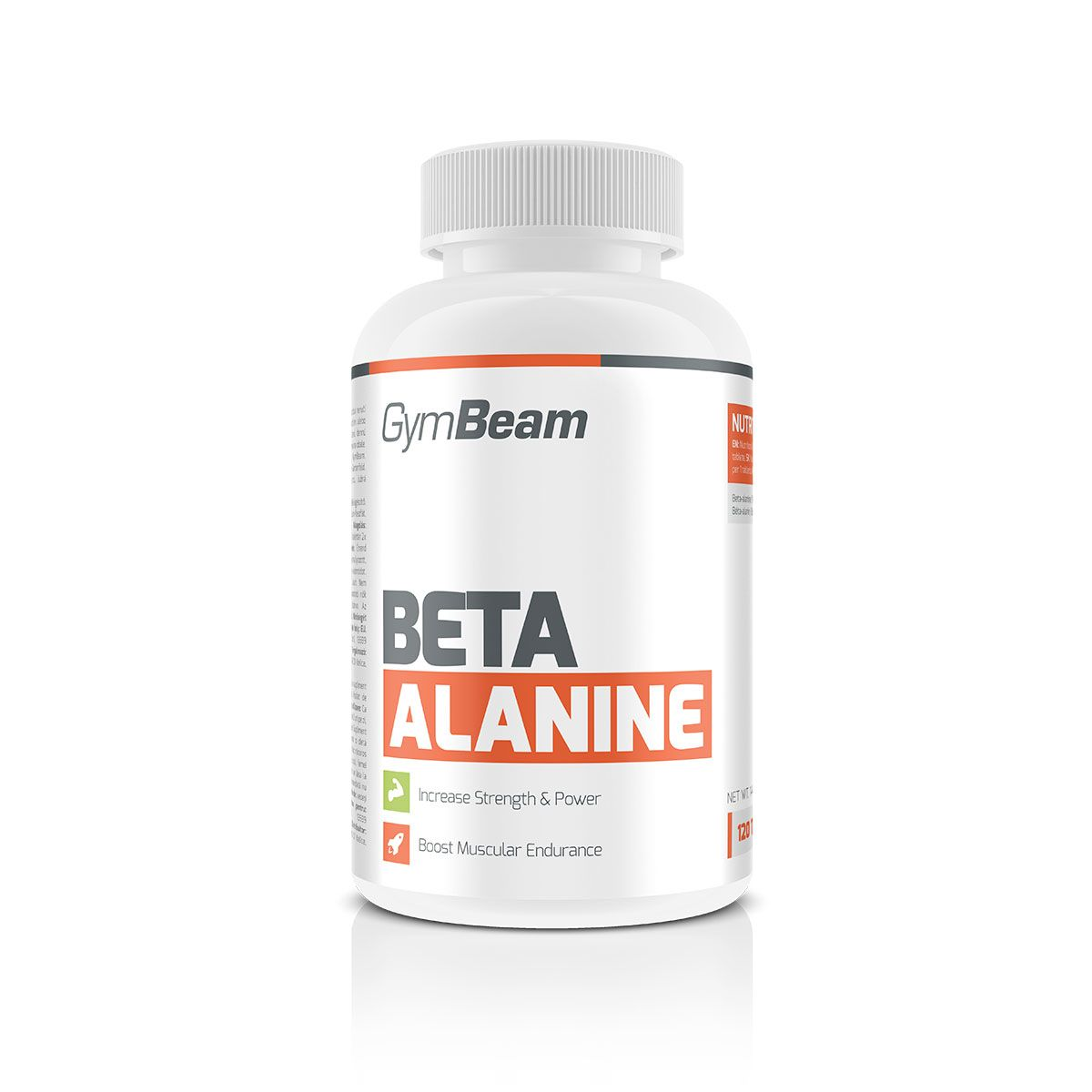 Beta alanin 120 tab - GymBeam