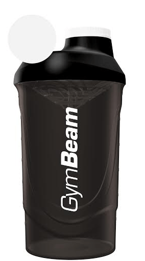 Šejker čierny 600 ml - GymBeam-600 ml