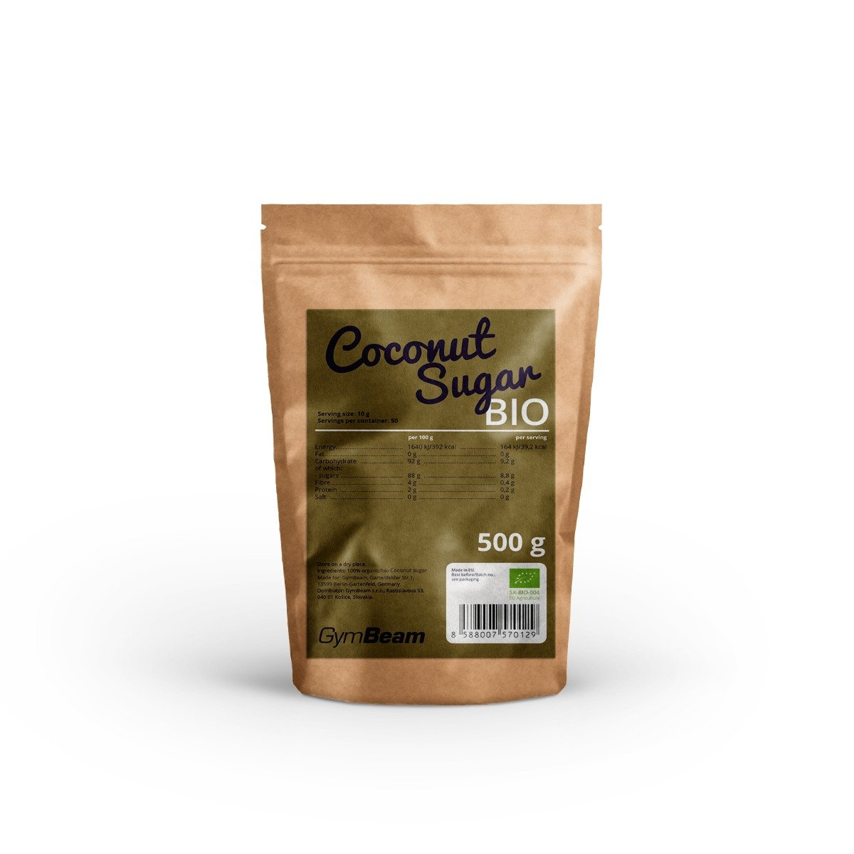 GymBeam Bio Coconut Sugar 500 g