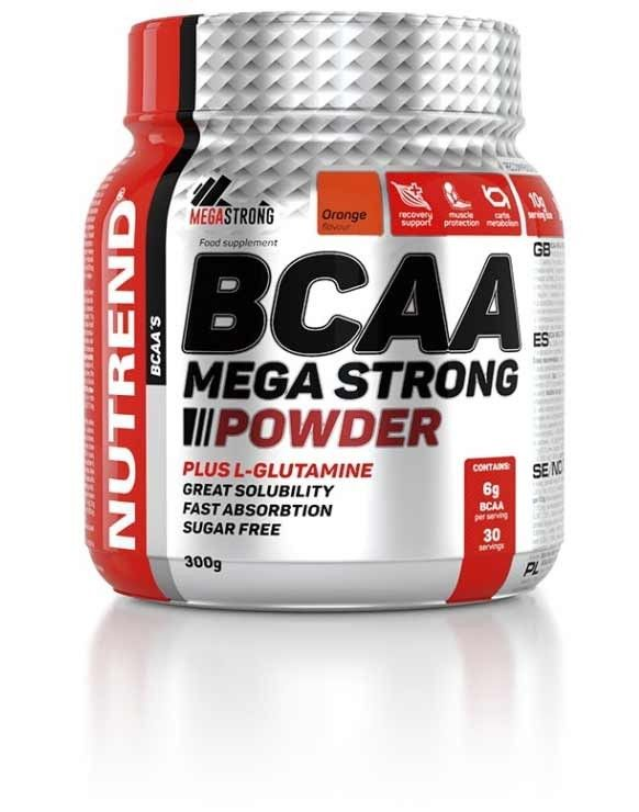 NUTREND BCAA MEGA STRONG POWDER 300 g - orange