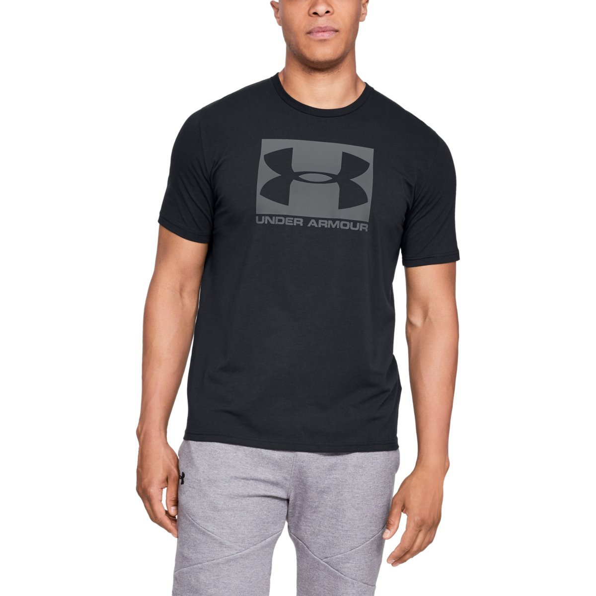 Tričko Boxed Sportstyle SS Black - Under Armour- S