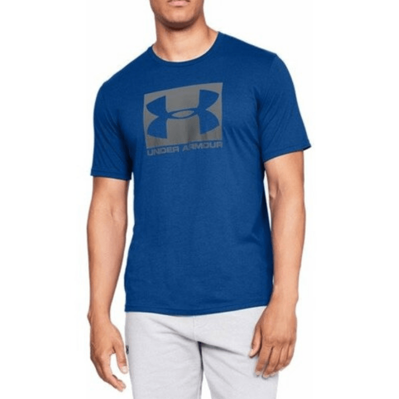 Tričko Boxed Sportstyle SS Blue - Under Armour - S