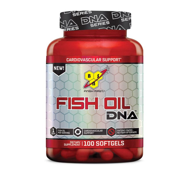 BSN DNA Fish Oil 100 cps.