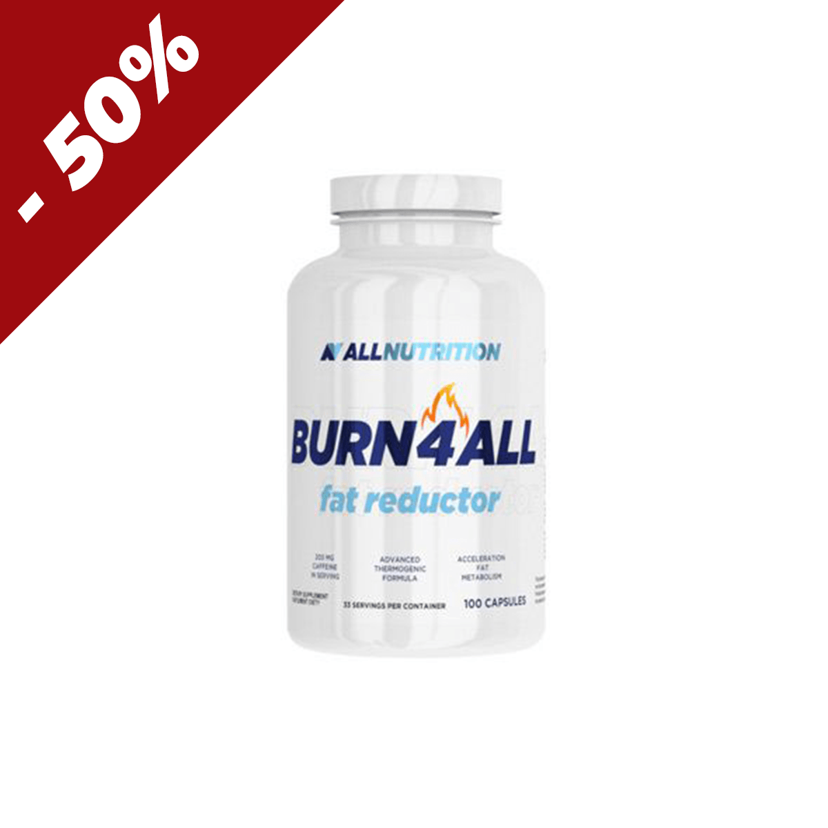 All Nutrition Burn4All 100 kaps