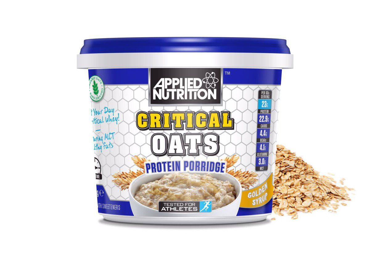 Applied Nutrition Critical Oats 60 g - gold syrup