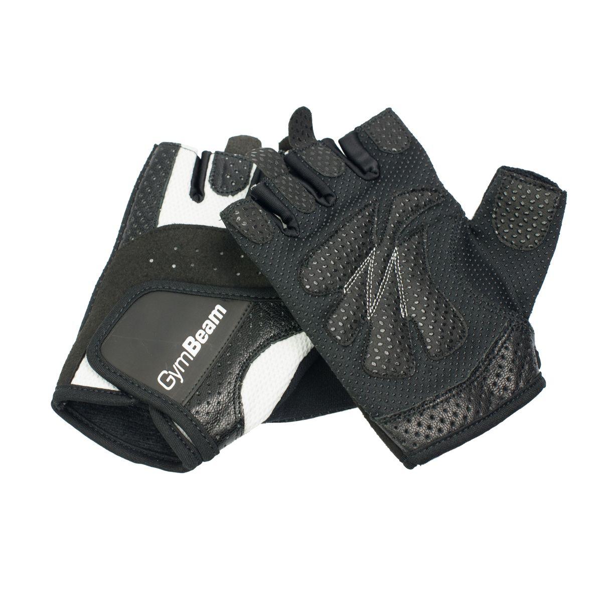 Fitness Dámske rukavice Bella - Gym Beam - S - bielo-čierne