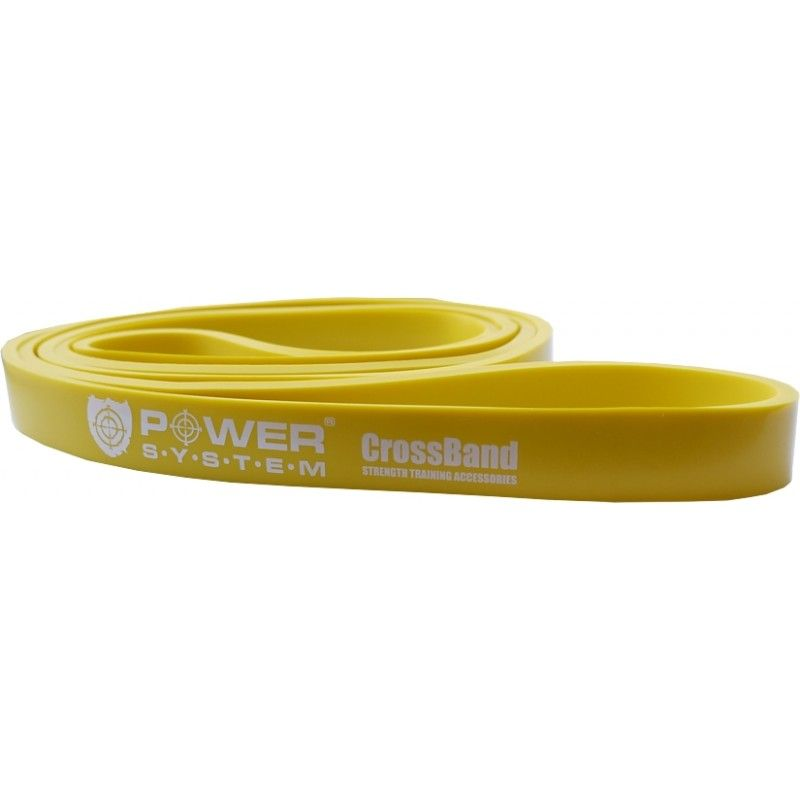 Posilňovacia guma Cross Band Level 1 PS-4051 - Power System - yellow