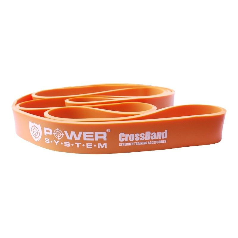 Posilňovacia guma Cross Band Level 2 PS-4052 - Power System - orange