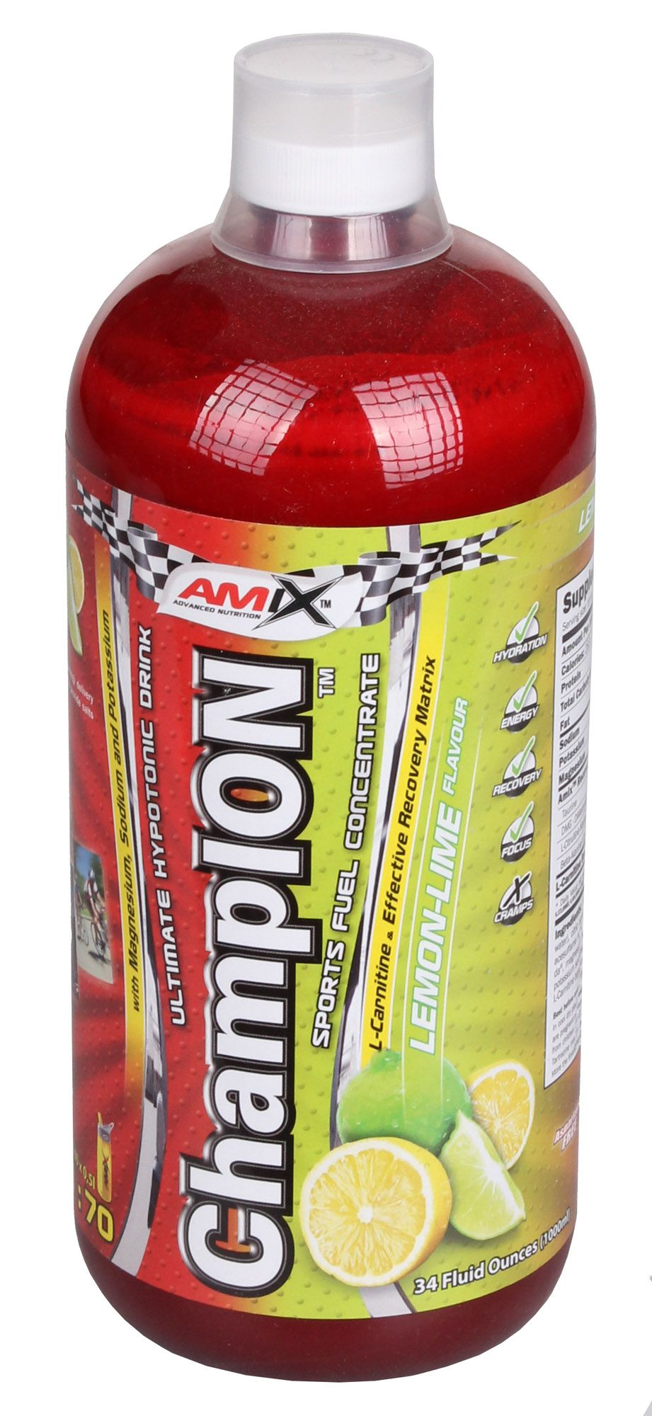 AMIX ChampION Sport Fuel Concentrate 1000 ml - strawberry