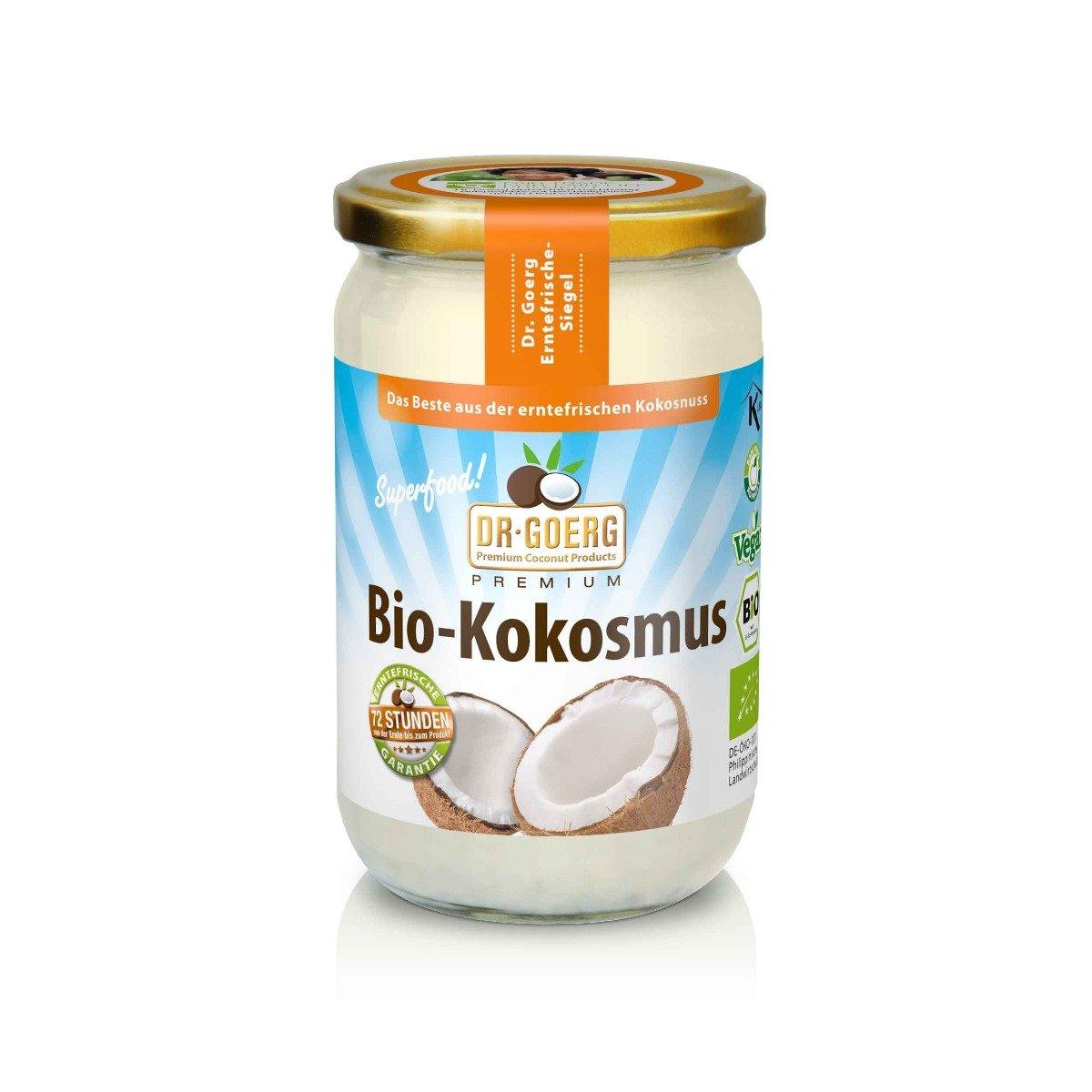 Premium BIO Kokosové máslo 200 g - DR. GOERG
