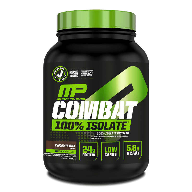 MusclePharm Combat 100% Isolate 1814 g - chocolate