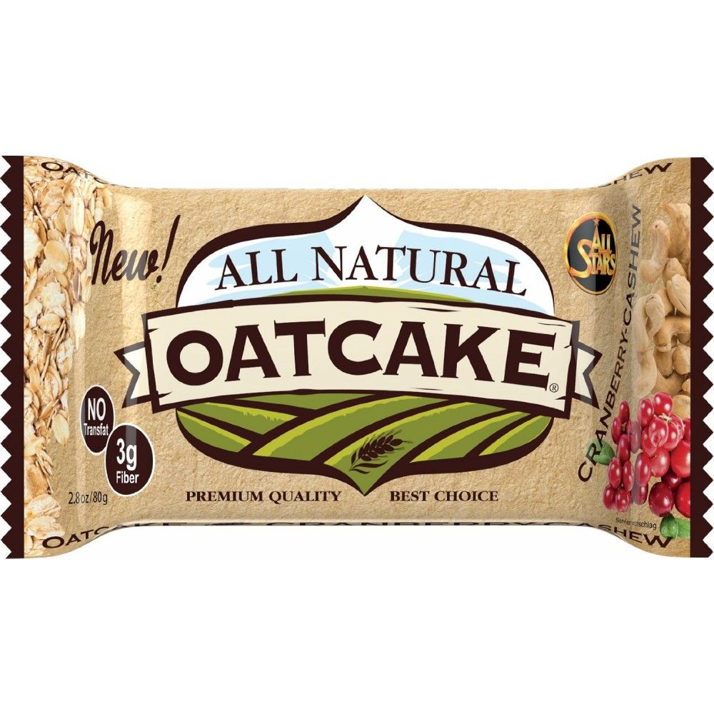 All Natural Oatcake 80 g - All Stars