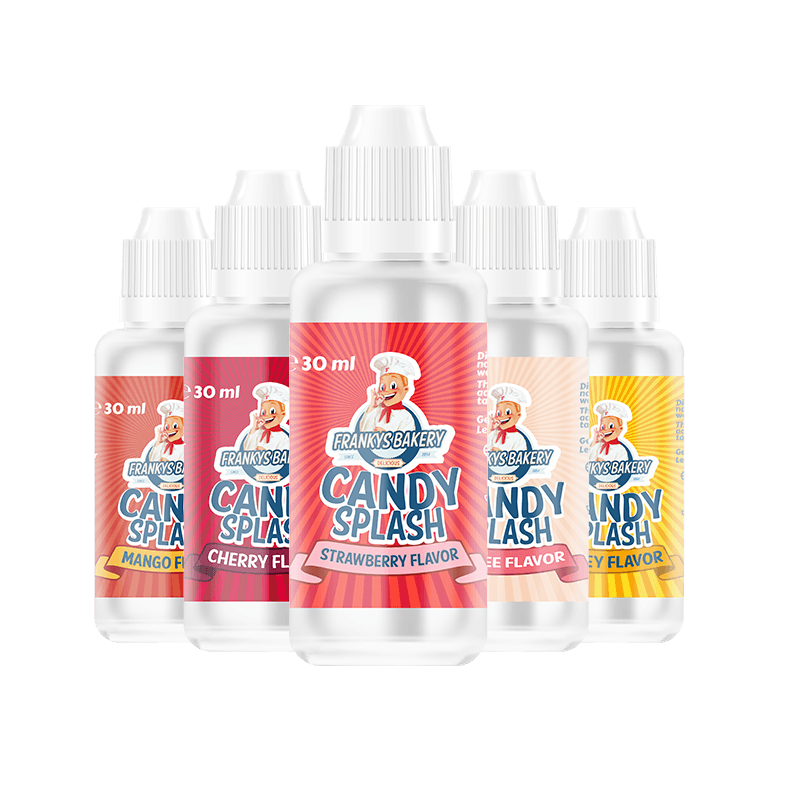 Frankys Bakery Candy Splash 30 ml - cotton candy