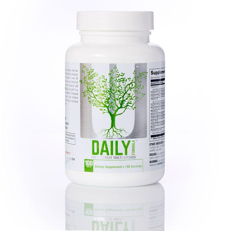 Daily Formula 100 tab. bez příchuti - Universal Nutrition