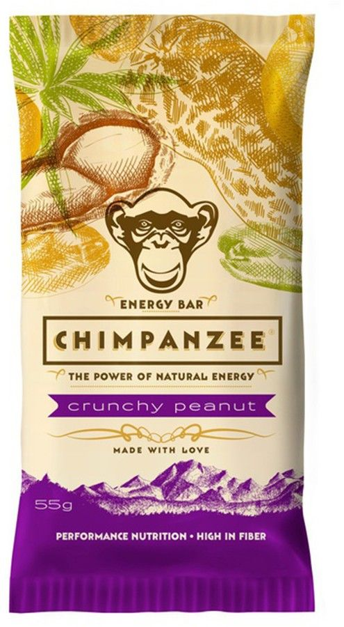 Chimpanzee Energy Bar 55 g - apple ginger