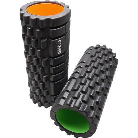 Valec na cvičenie Fitness Roller PS-4050 - Power System - black