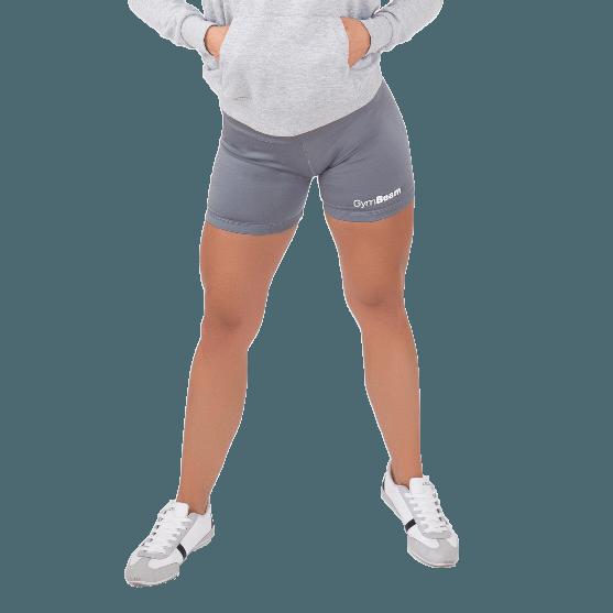 GymBeam Dámske fitness šortky Fly-By Grey - S