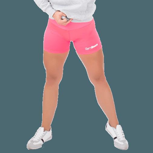 GymBeam Dámske fitness šortky Fly-By Pink - S
