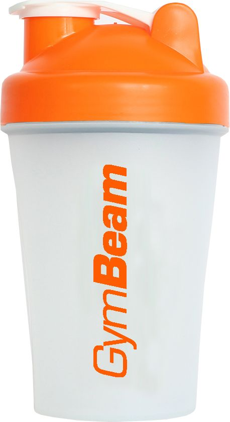 GymBeam Šejker Blender Bottle priesvitno-oranžový 400 ml