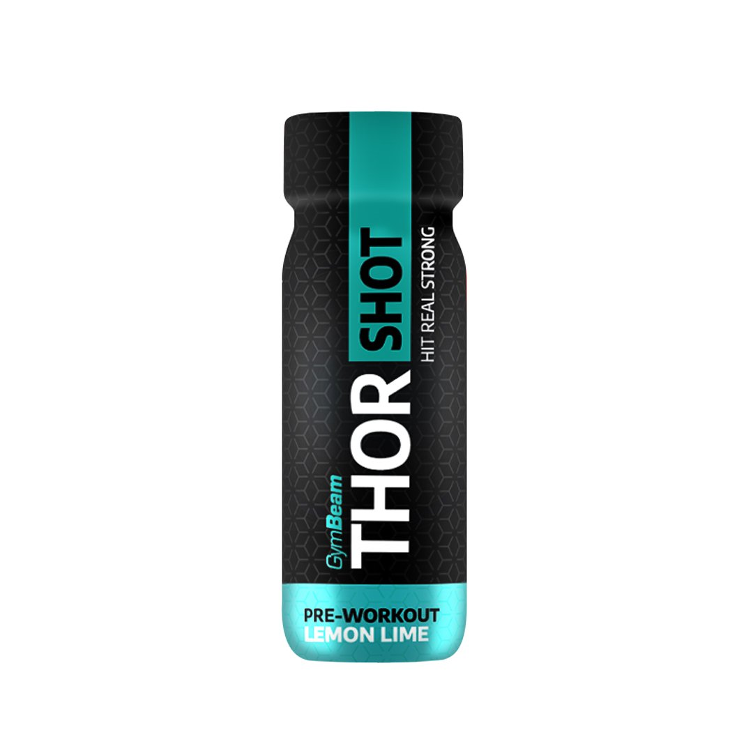 GymBeam Thor Shot 60 ml - Lemon-Lime