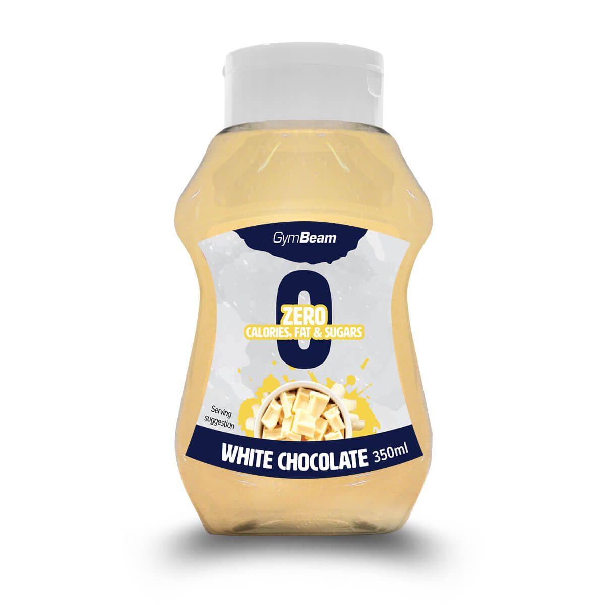 GymBeam White Chocolate 350 ml