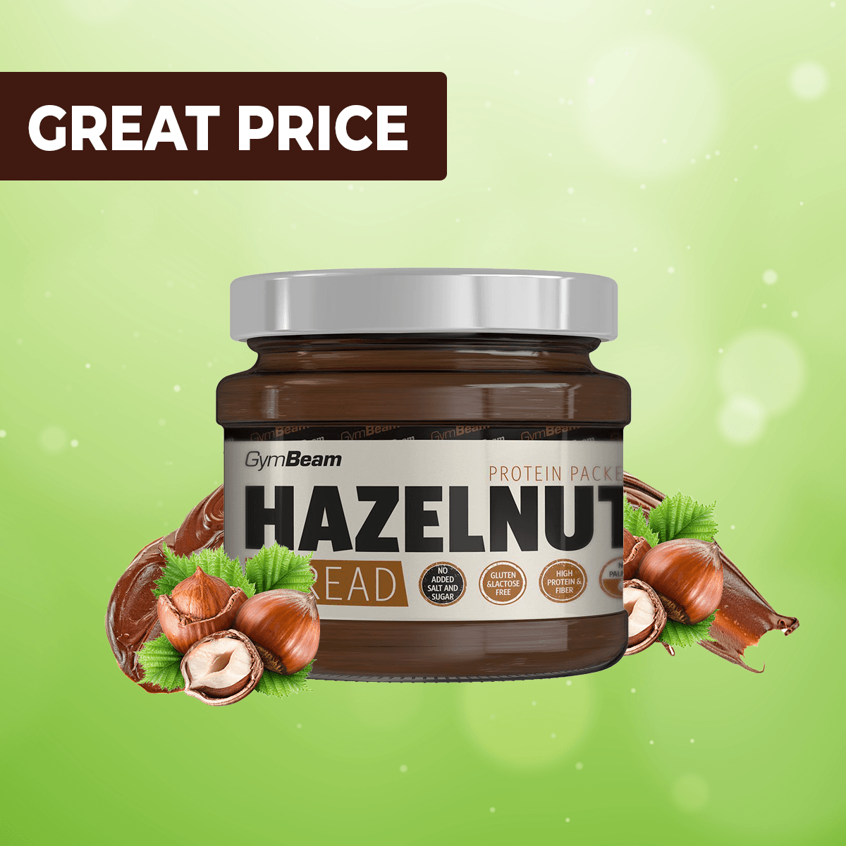 Hazelnut Spread - GymBeam