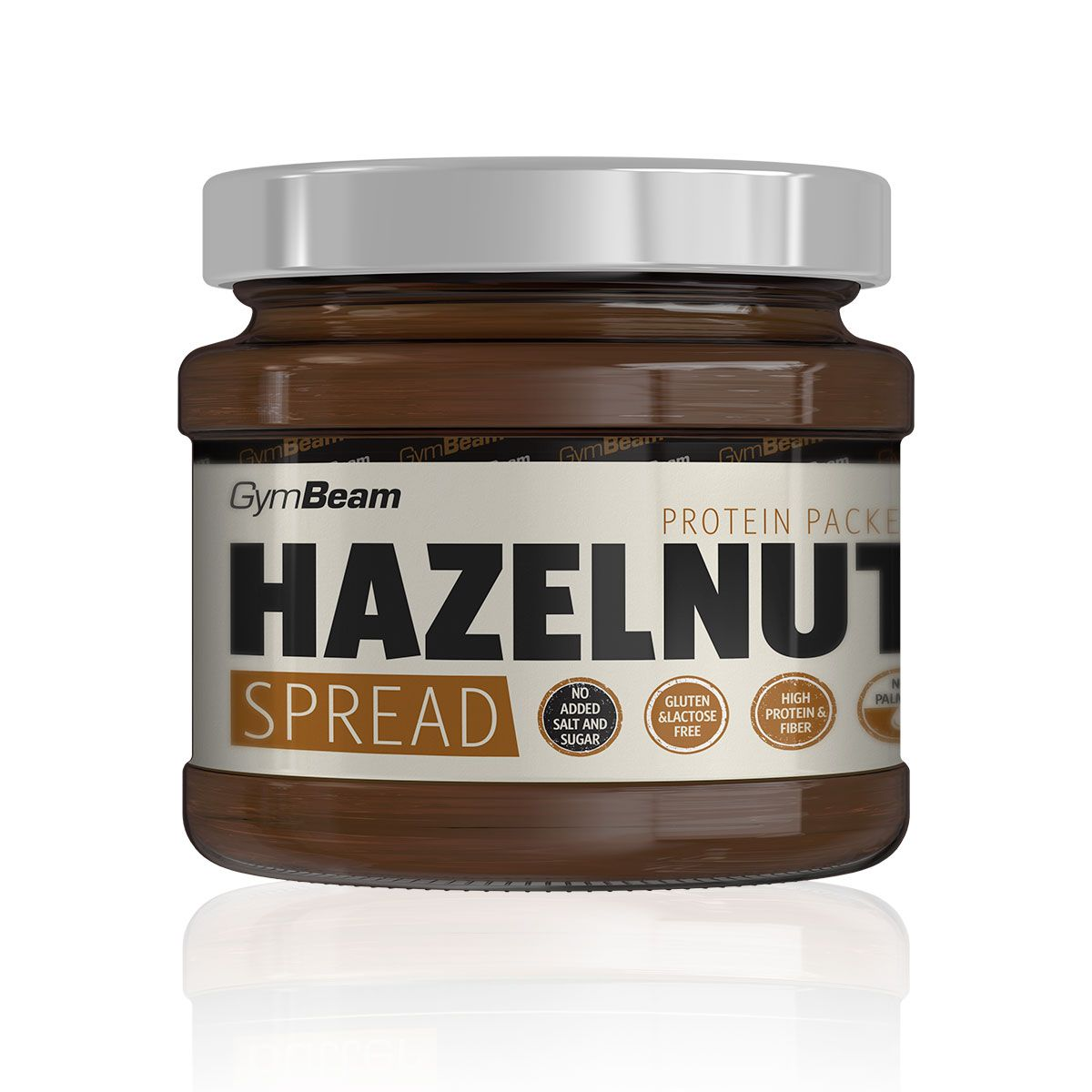GymBeam Hazelnut Spread 340 g