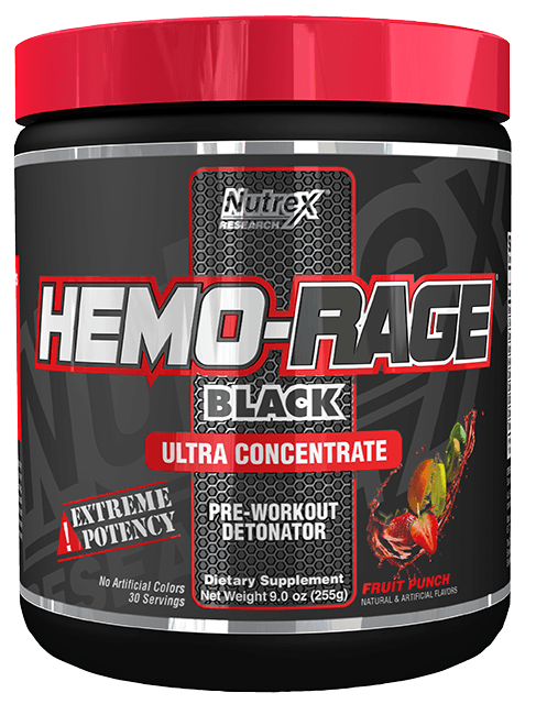 Nutrex Hemo Rage Black Ultra Concentrate 252 g - fruit punch