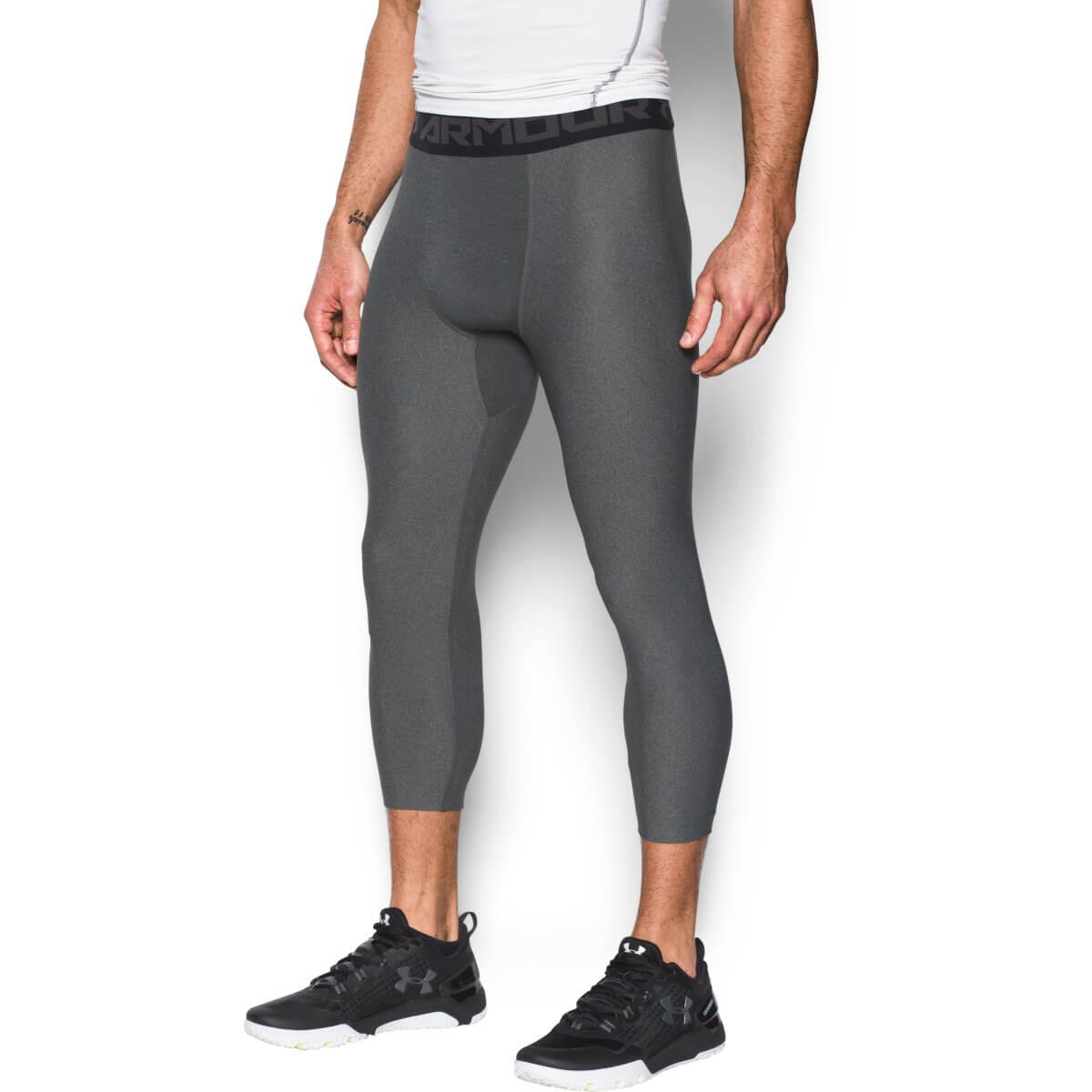 Under Armour Kompresné legíny HG Armour 2.0 Legging Grey