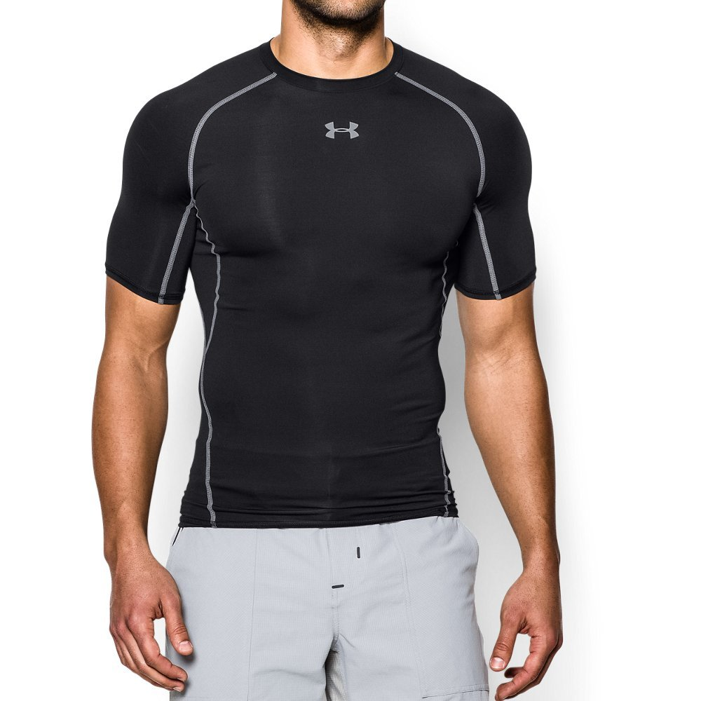 Kompresní tričko HG Armour SS Black - Under Armour