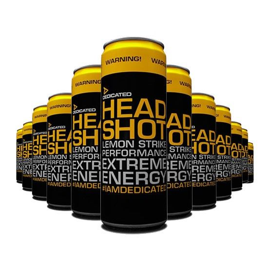 Předtréninkový stimulant Headshot 355 ml - Dedicated