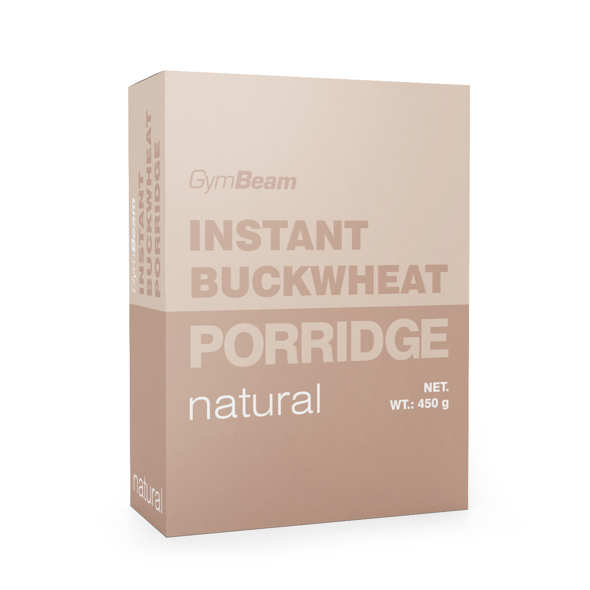 Instantní pohanková kaše 450 g jahoda - GymBeam
