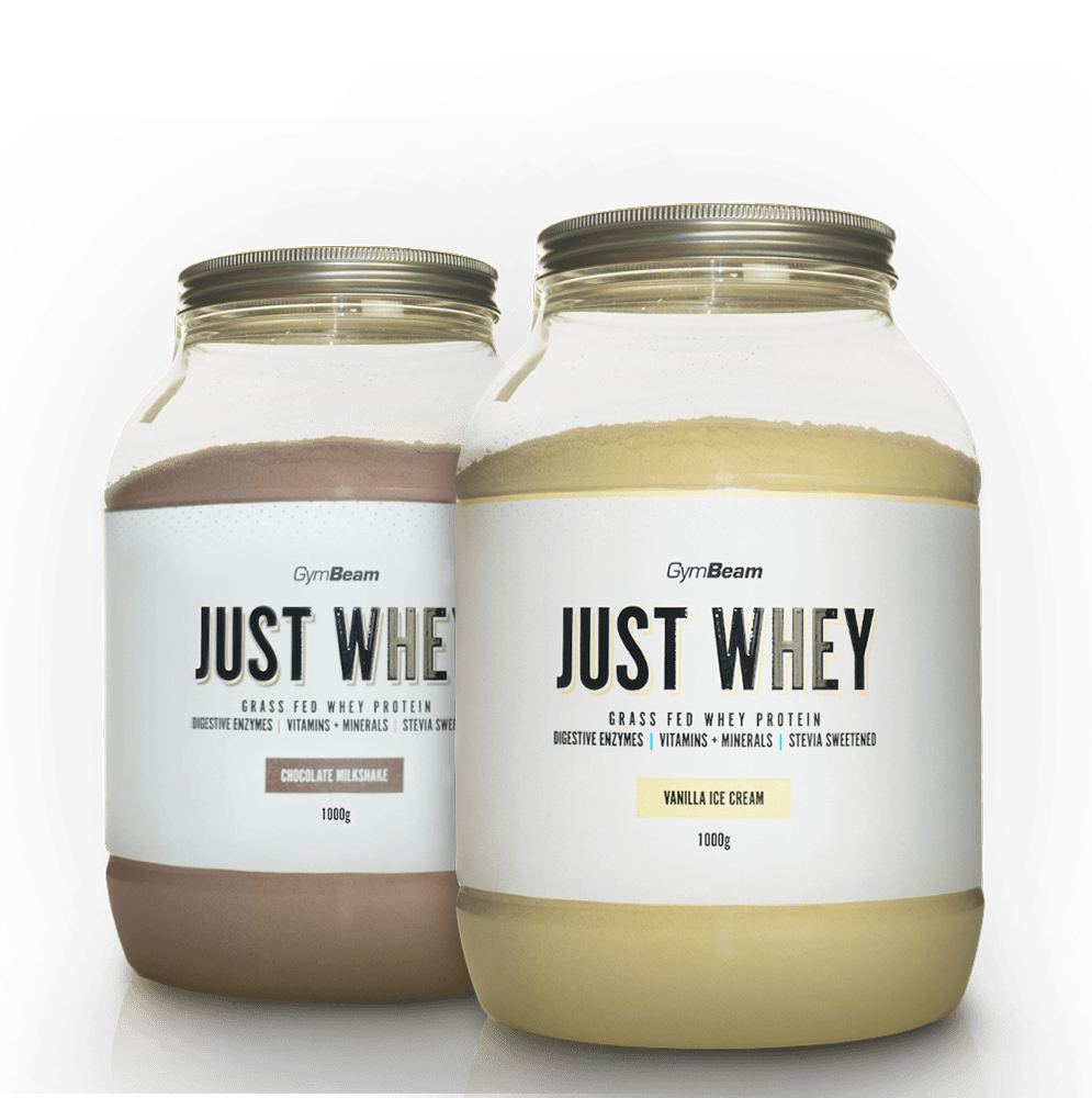GymBeam Just Whey 1000 g - unflavored