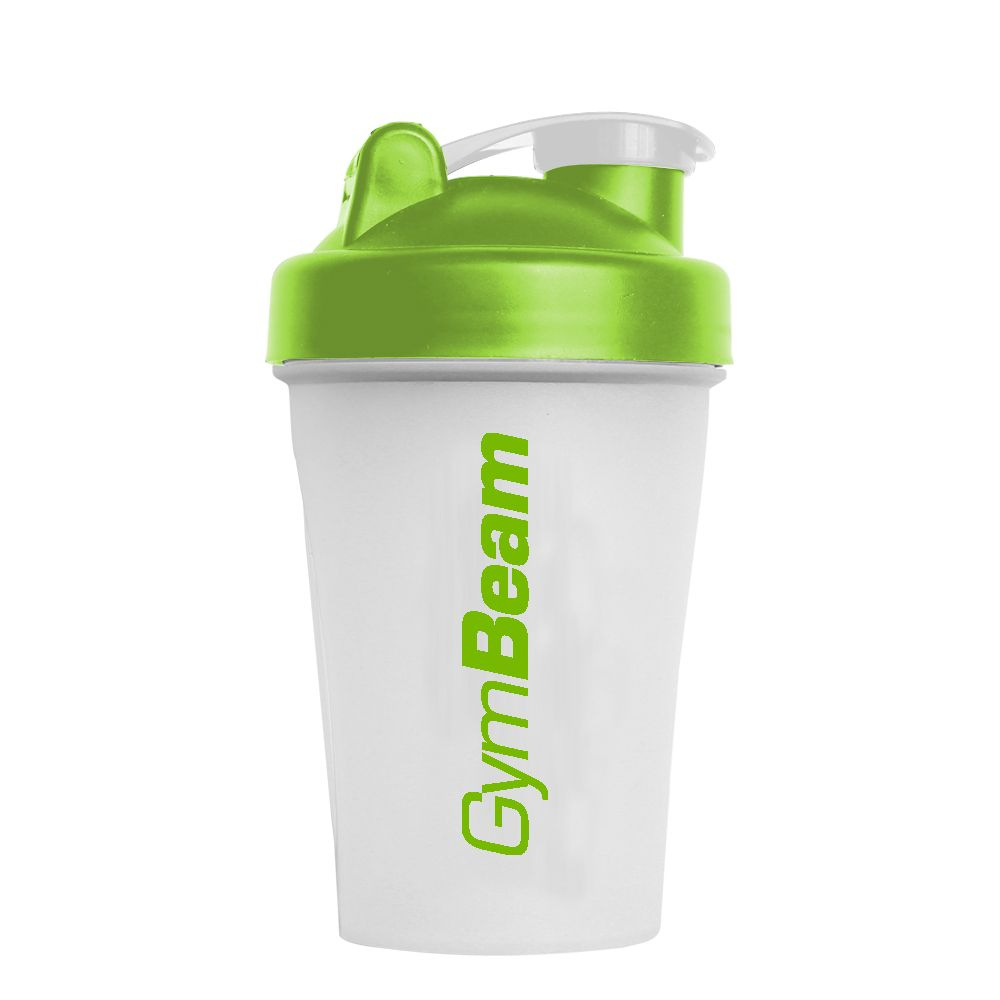 GymBeam Šejker Blender Bottle priesvitno-zelený 400 ml