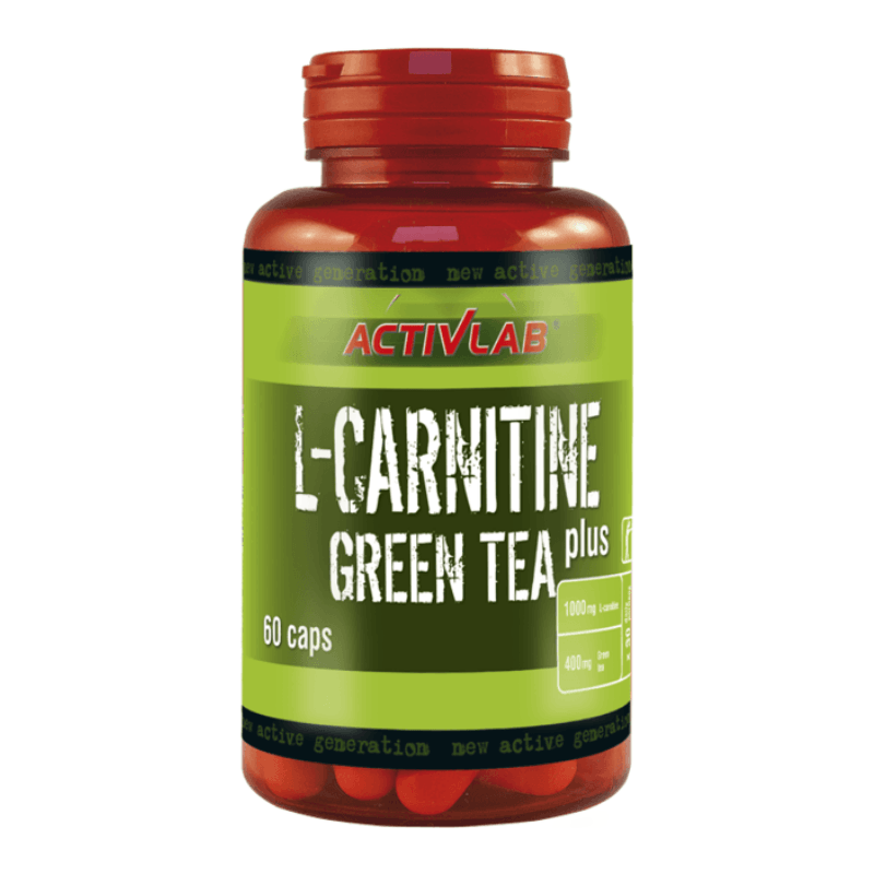 L-Carnitine  Green Tea 60 kaps - ActivLab