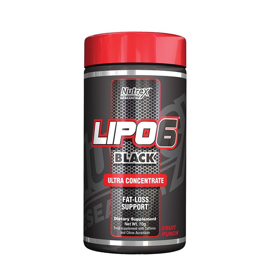 NUTREX LIPO 6 BLACK 70 g - fruit punch