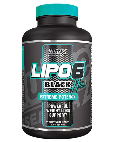 Nutrex Lipo-6 Black Hers International 120 kaps