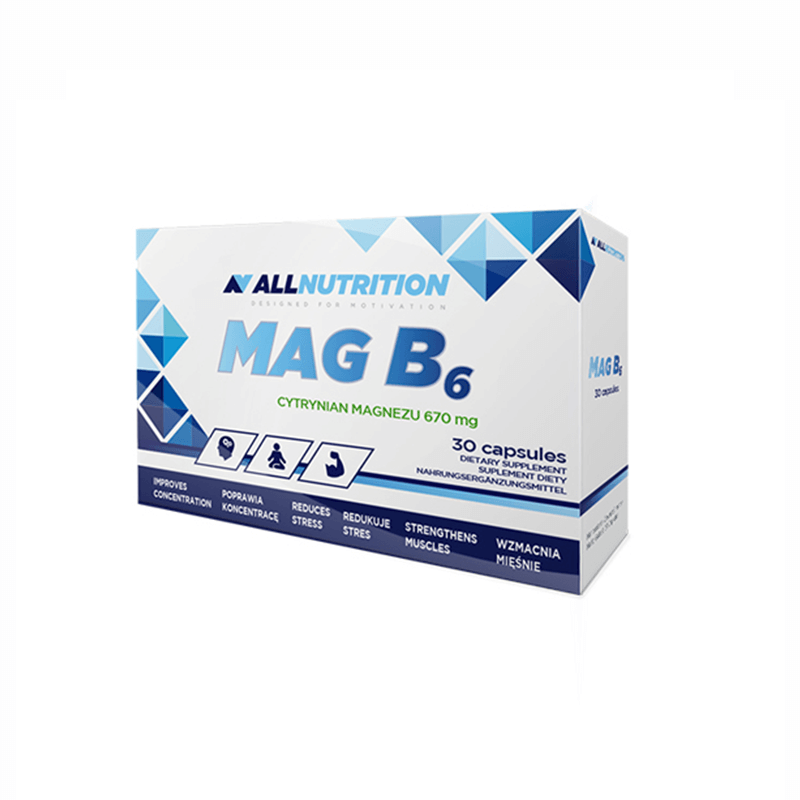 MagB6 Active 30 kaps - All Nutrition