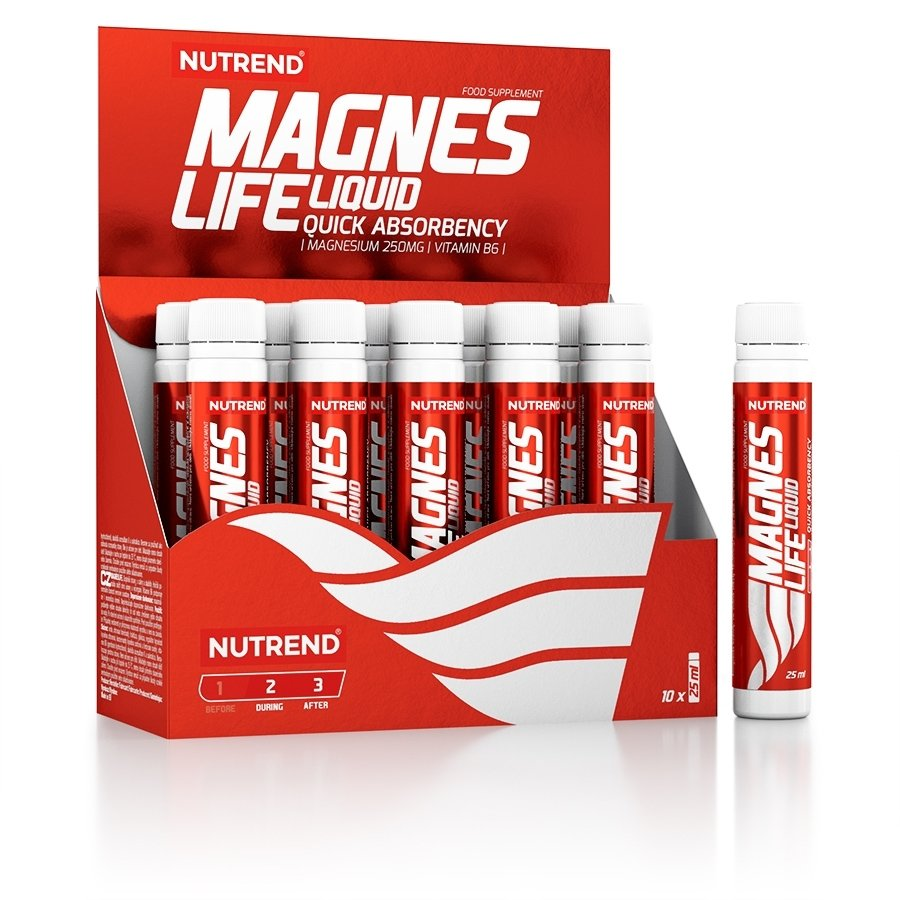 Magneslife 10 x 25 ml - Nutrend