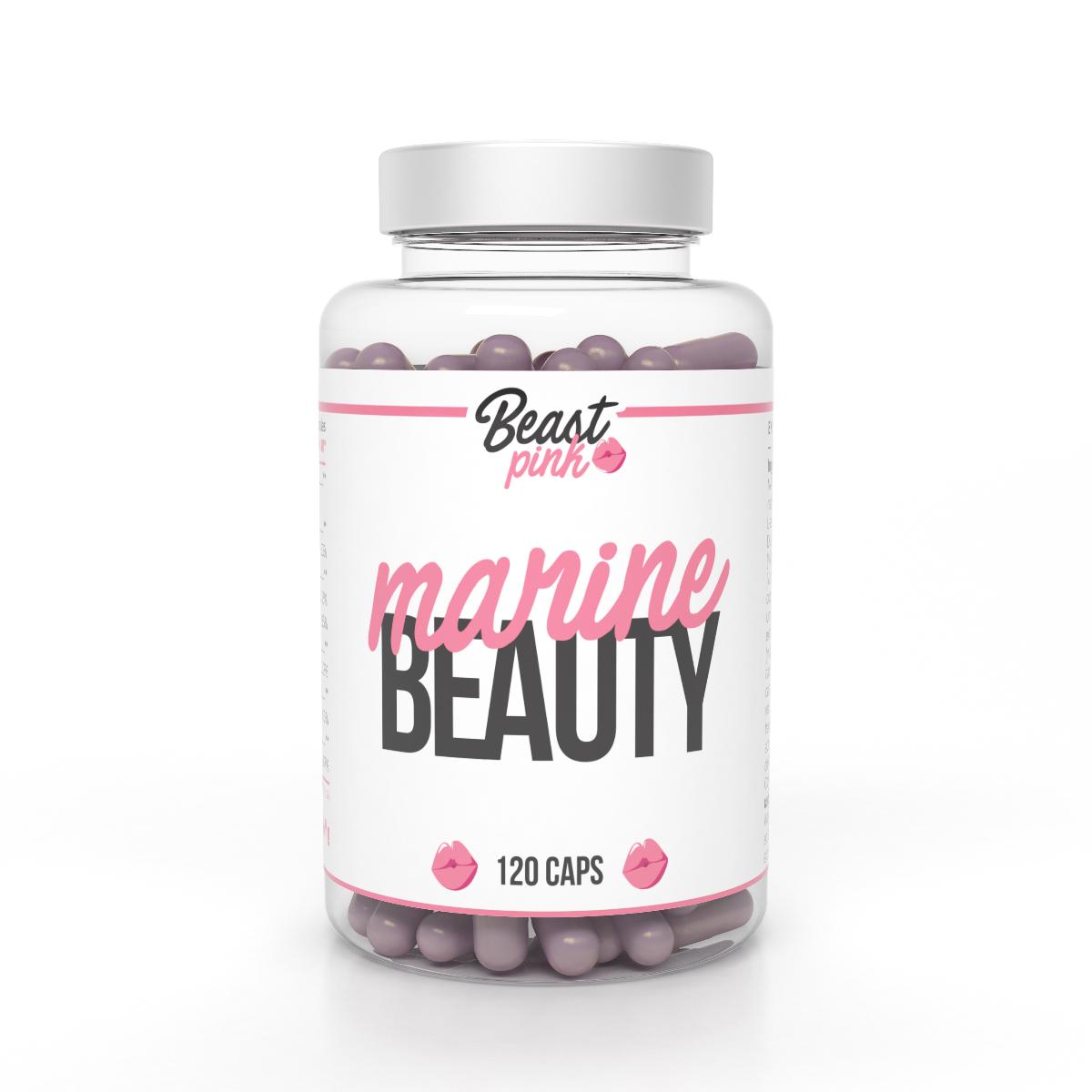 Marine Beauty 120 kaps. - BeastPink