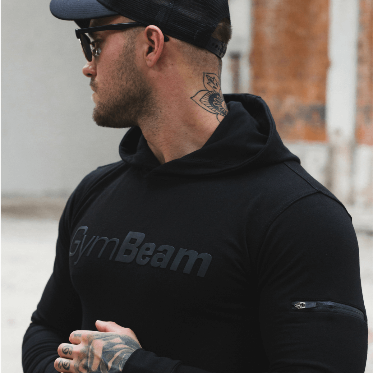 GymBeam Mikina Urban Black - S