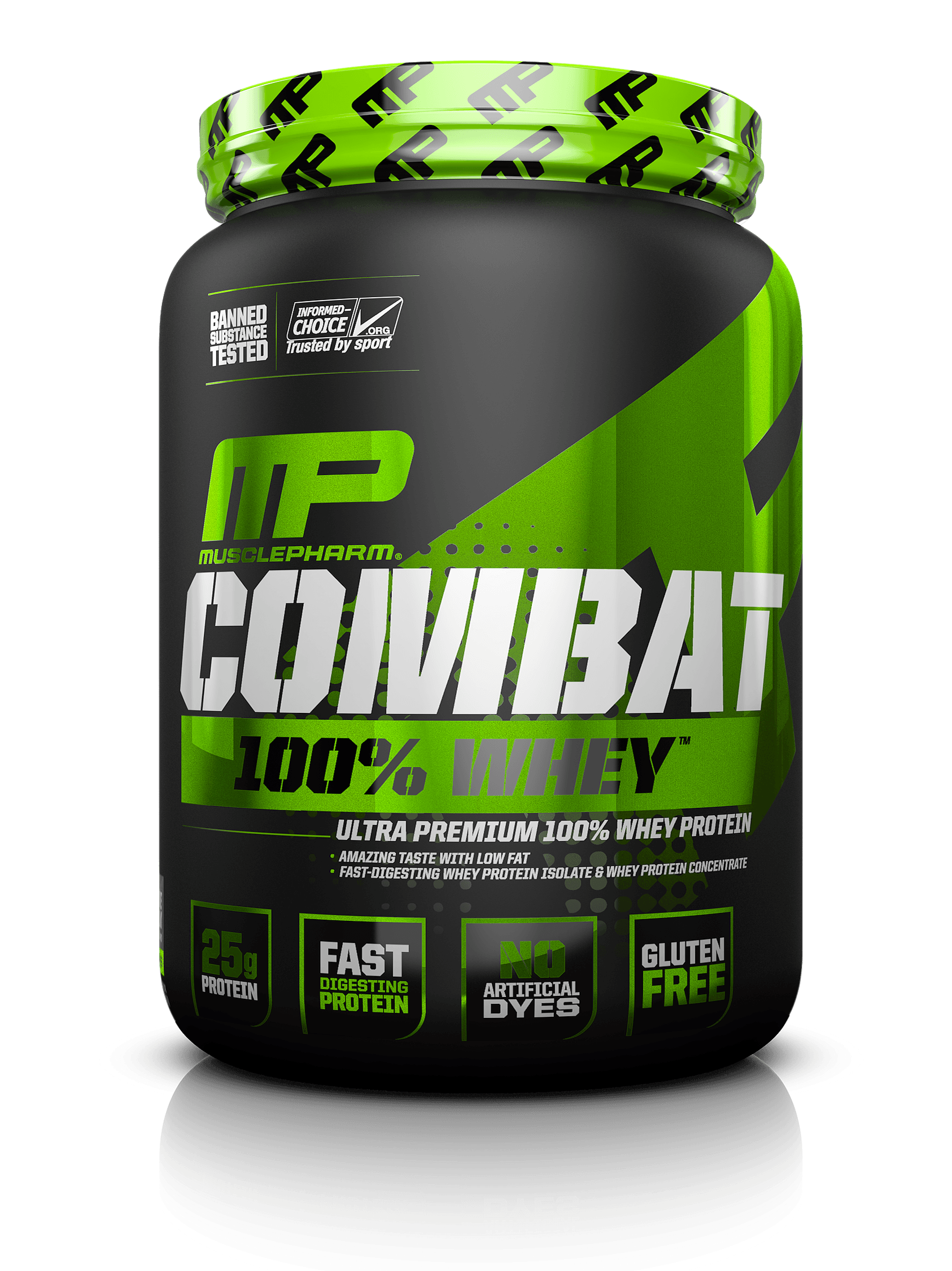 MusclePharm Combat 100% Whey 1800 g - milk chocolate