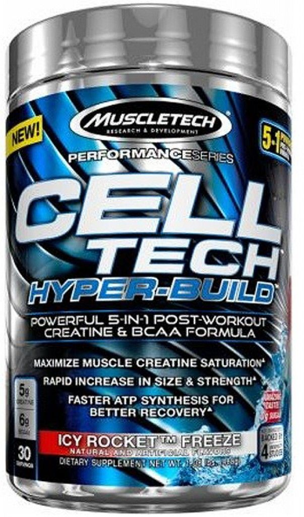 MuscleTech Cell Tech Hyper-Build 485 g - icy rocket freeze
